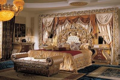 Dormitorio barroco grande - Dormitorio barroco ...