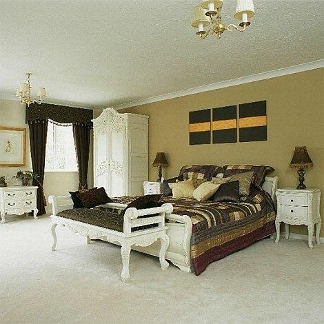 Dormitorio barroco y moderno - Dormitorio barroco ...