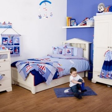 Dormitorios infantiles ni o for Decoracion pieza nino