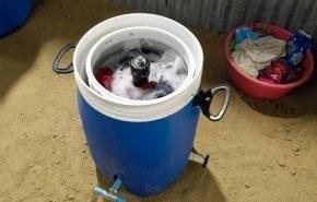 Giradora, la lavadora que funciona sin electricidad gracias a sus pedales