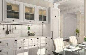 Cocinas blancas, amplias y luminosas