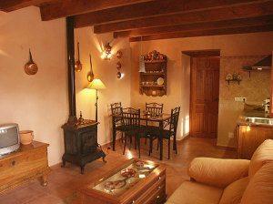 Decoracion en casas rurales con encanto para inspirarse - Casas rusticas decoracion ...