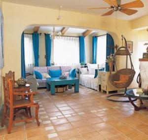 Decoracion de estilo mediterraneo for Sala de estar estilo mediterraneo