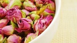 Centros de mesa con flores secas
