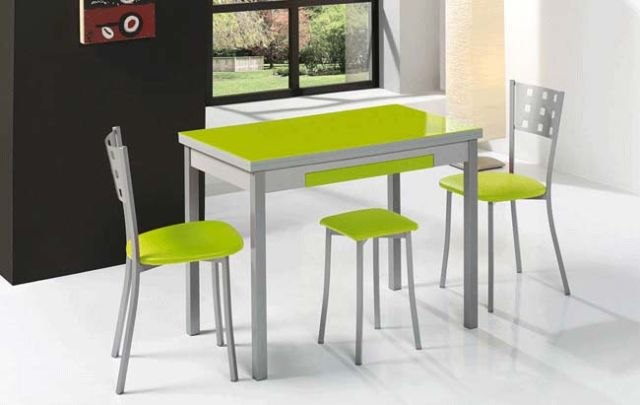 Cocina mesa y sillas - Sillas para cocinas modernas ...