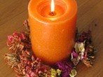 dried-flowers-candle