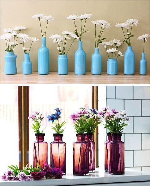 Ideas para decorar estanter as - Estanterias para botellas ...