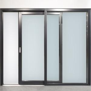 Puertas de aluminio for Modelos de puertas para dormitorios