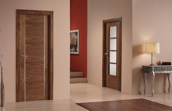 Puertas de interior donde comprarlas for Modelos de puerta de madera para casa