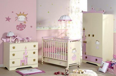 Como decorar un dormitorio de bebe de manera saludable for Iluminacion habitacion bebe