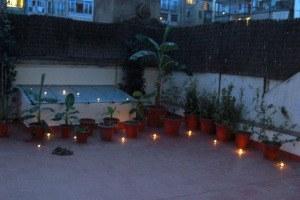velas terraza