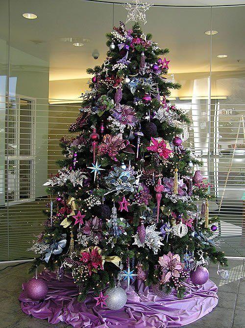 decoracion-arboles-de-navidad-2013-color-purpura