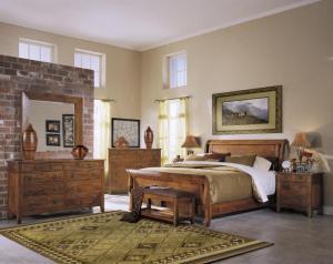 dormitorio matrimonio rstico