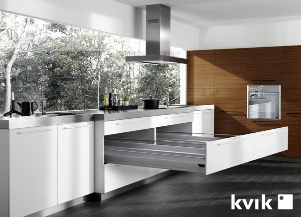 Kvik cocinas ba os y armarios modernos for Cocinas y banos modernos
