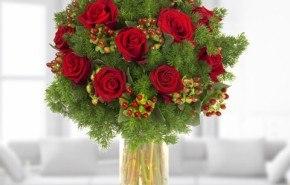 Flores y centros de mesa para Navidad 2014-2015