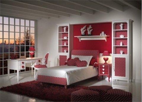 Habitación temática romántica