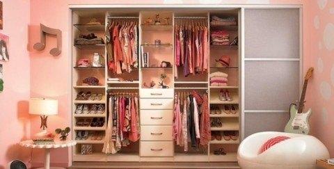 C mo ordenar un dormitorio adolescente - Como ordenar un armario pequeno ...