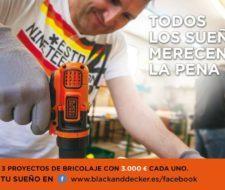 Concurso BLACK+DECKER | 3 proyectos con 3.000 euros