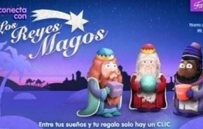 Famosa te descubre la web de los Reyes Magos