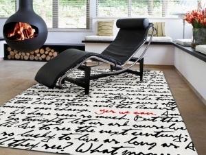 Decoraci n con alfombras modernas - Alfombras salon modernas ...