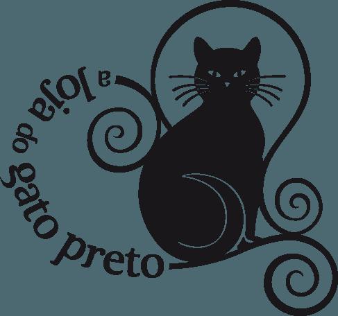 Cat logo a loja do gato preto El gato negro decoracion