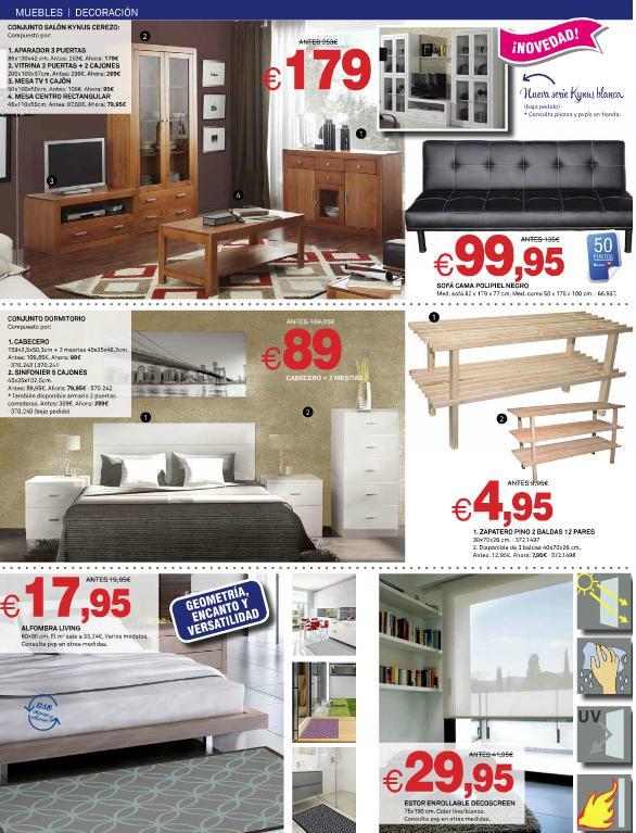 Catalogo De Bricoking 2015 Muebles Salon Dormitorio