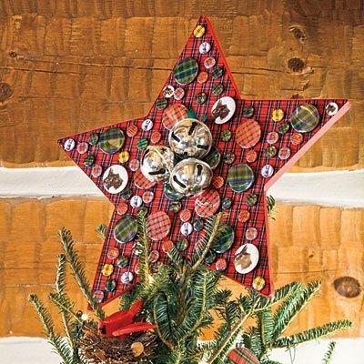 decoracion-navidad-2013-habitaciones-fotos-estrella-tartan
