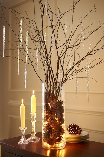 Christmas decorations-2013-rooms-photos-jarron-pineapples