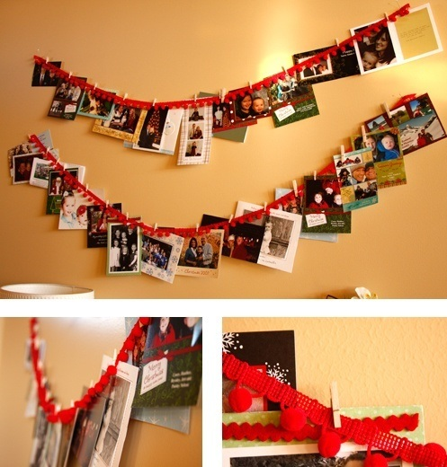 decoracion-navidad-2013-habitaciones-fotos-tarjetas-pared