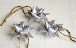 Estrellas tridimensionales para el árbol de Navidad 2014