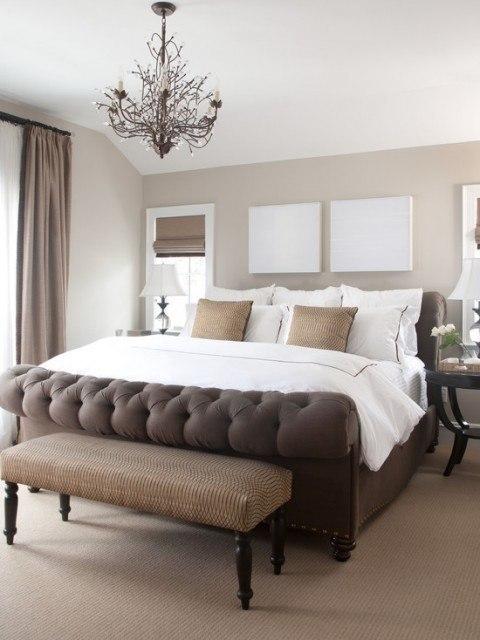 Amueblar y decorar dormitorio de matrimonio muy pequeo Versin