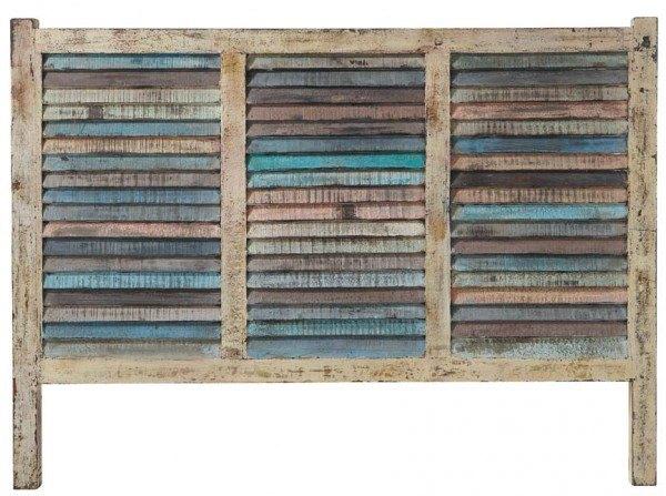 M s de 100 fotos de cabeceros originales para cama 2019 - Cabecero madera tallada ...