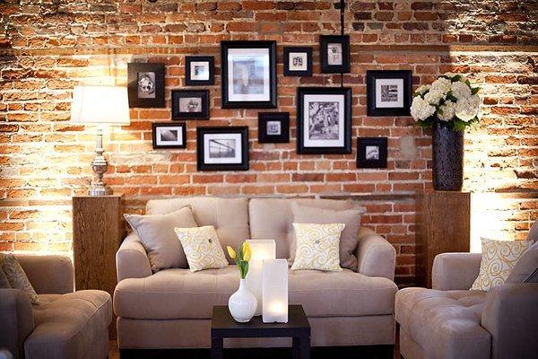 Un estilo de decoraciu00f3n que se impone decoraciu00f3n con los ladrillos ...