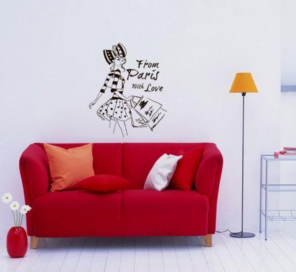 Marcos para murales de salones - Salones con vinilos decorativos ...