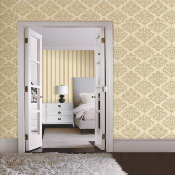 decoración-paredes-pintura-papel-y-telas
