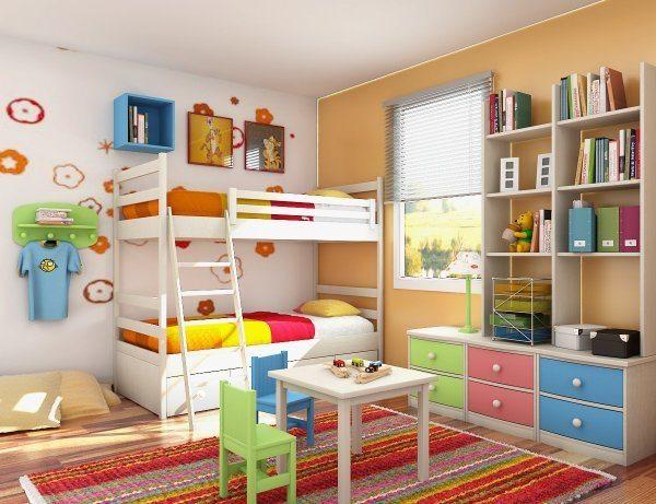 Dormitorios infantiles for Dormitorio infantil bosque