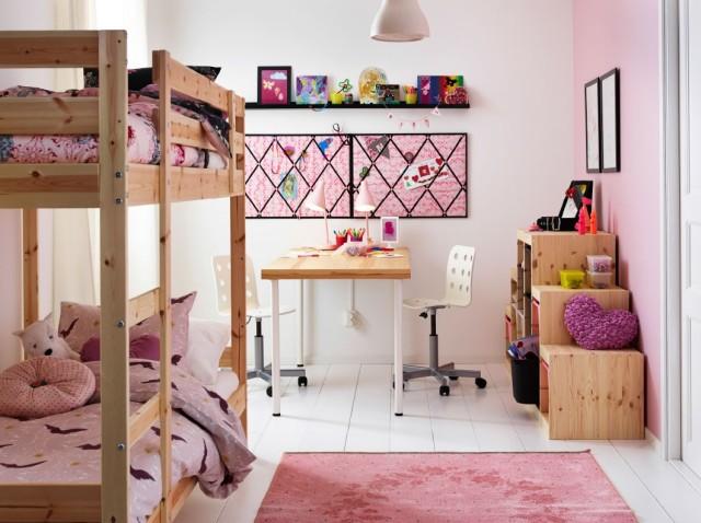 M s de 100 dormitorios juveniles 2018 llenos de inspiraci n - Ikea habitaciones infantiles literas ...