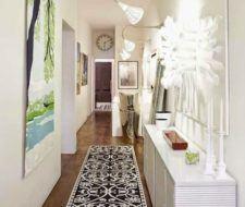 Fotos con ideas para pintar y decorar pasillos estrechos, largos y modernos
