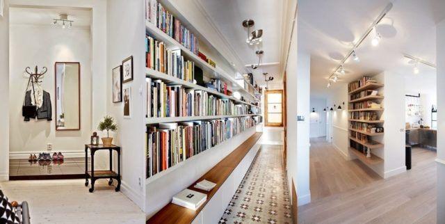 Fotos con ideas para pintar y decorar pasillos estrechos largos y modernos - Pintar pasillo largo ...