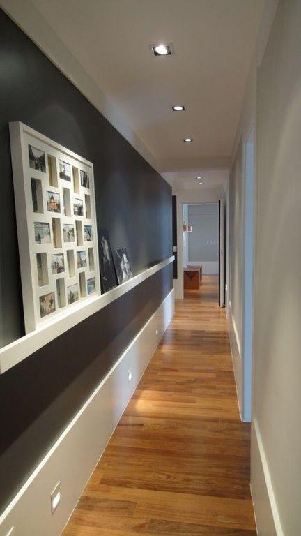Fotos Con Ideas Para Pintar Y Decorar Pasillos Estrechos Largos Y - Decoracion-en-pasillos