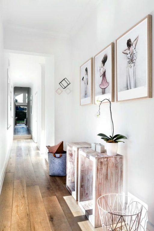 Fotos con ideas para pintar y decorar pasillos estrechos for Mueble pasillo estrecho