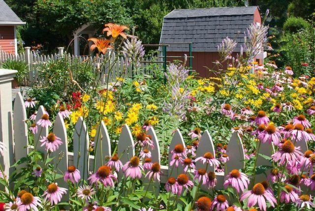 Jardines con flores: 50 fotos de ideas para decorar - EspacioHogar.com