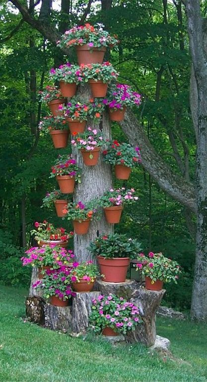 Jardines con flores 50 fotos de ideas para decorar - Ideas para jardines pequenos fotos ...