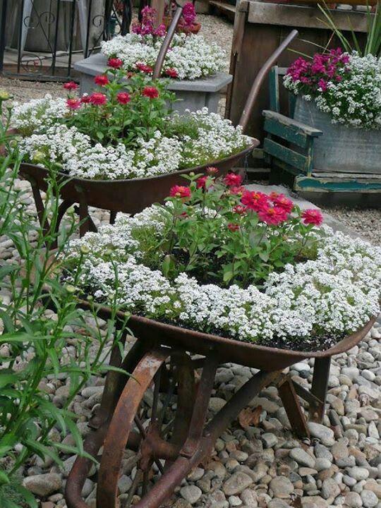 Jardines Con Flores 50 Fotos De Ideas Para Decorar