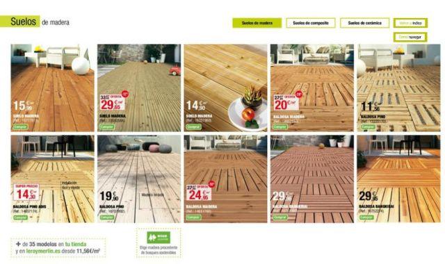 Leroy merlin 2015 suelos de madera - Suelos leroy merlin catalogo ...