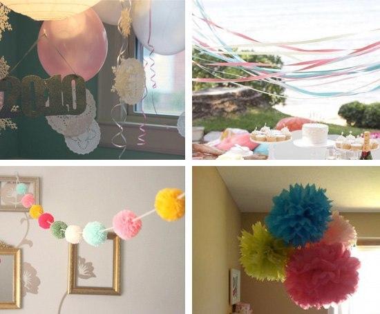 Ideas de decoraci n para un cumplea os - Ideas para decorar un cumpleanos de adulto ...