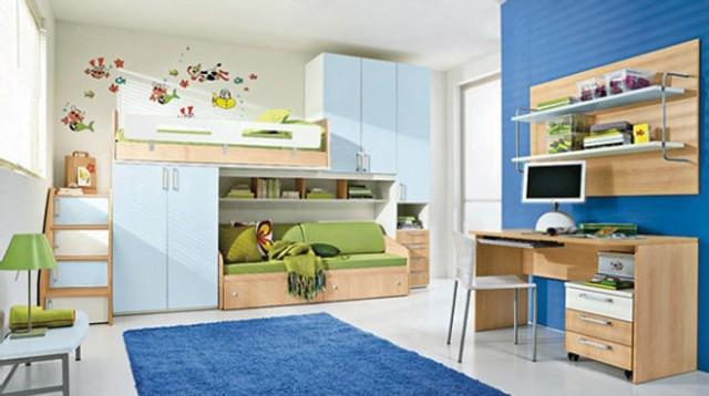 colors-bedrooms-children-FURNITURE-in-color-blue