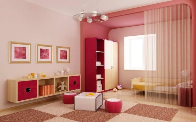 colors-bedrooms-children-WALLS-CURTAINS-color-ocher
