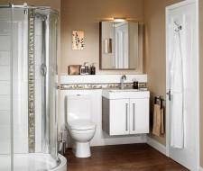 Colores para cuartos de baño pequeños 2017