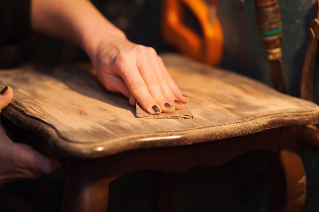 Como envejecer la madera